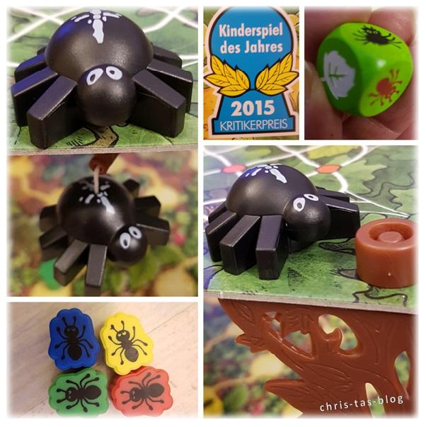 Details Spinderella Spiel des Jahres 2015