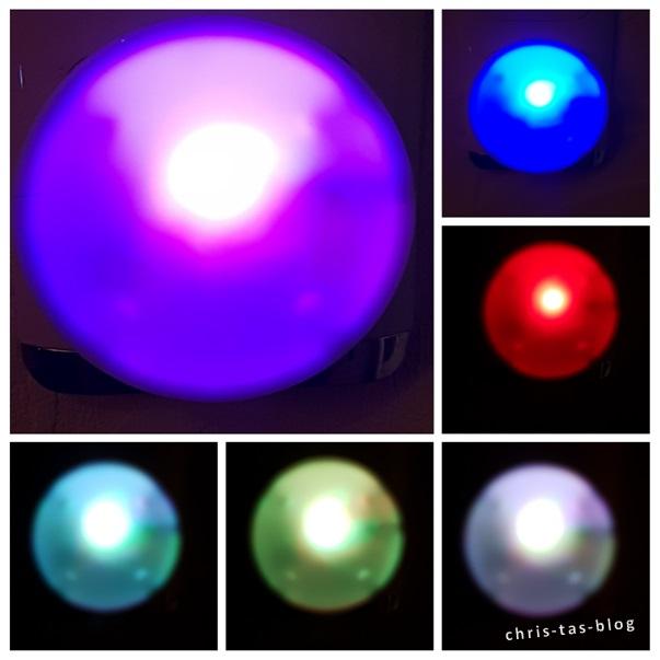 LED Farbwechsel der Nahtlichter