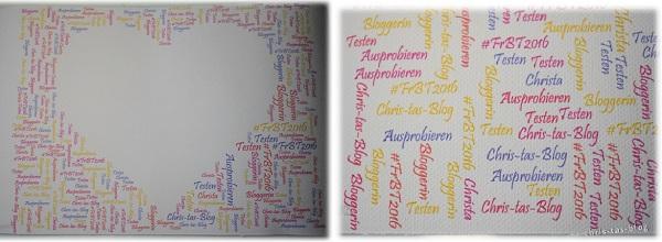 Kunstdruck von Happy Words mit meinem Namen