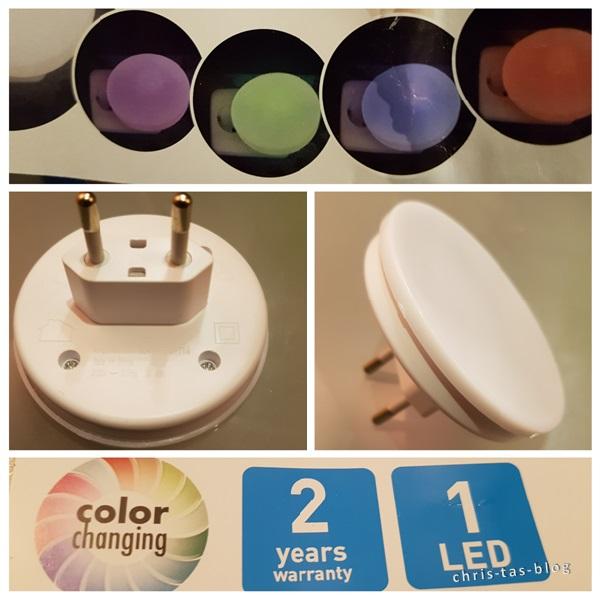 nachtlichter mit Farbwechsel