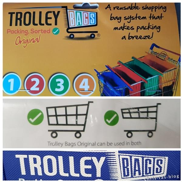 trolley bags system zum shoppen