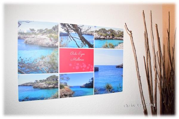 Cala Egos, Mallorca - Urlaubsbild auf Aluminium gedruckt