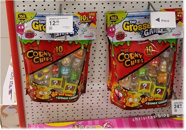 Corny Chips Grossery Gang