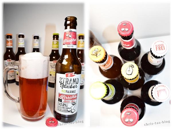 StrandRäuber Störtebeker Bio Bier Mix Kirsche