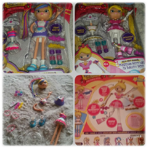 Packungsinhalt Betty Spaghetty