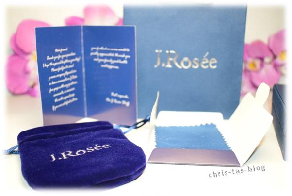Lieferumfang Schmuck von J. Rosée