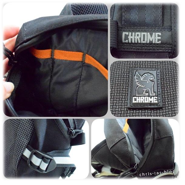CHROME Kadet Messerngerbag im Detail