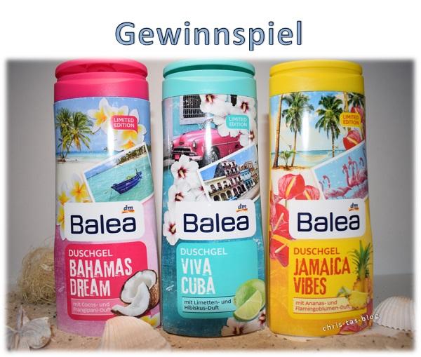 Balea Duschgel Gewinnspiel