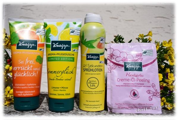 Kneipp Willkommenspäckchen Aroma-Pflegeduschen