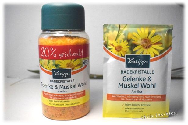 Badekristalle Gelenke & Musekl Wohl Arnika Kneipp