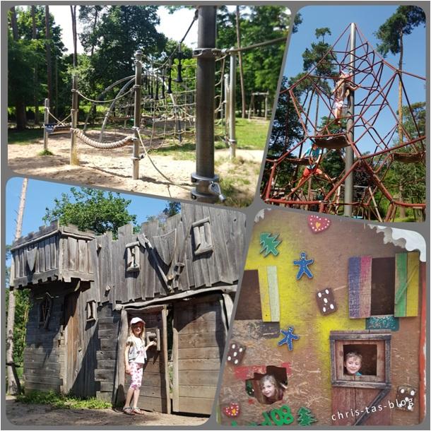 Spielparadies für Kinder Tierpark Sommerhausen