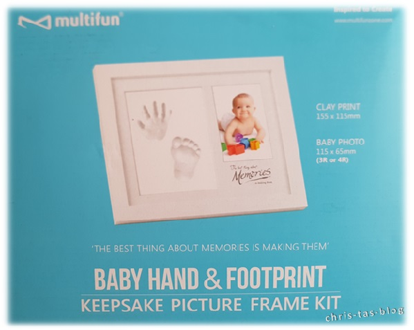 Set für Hand- und Fußabdrücke Baby
