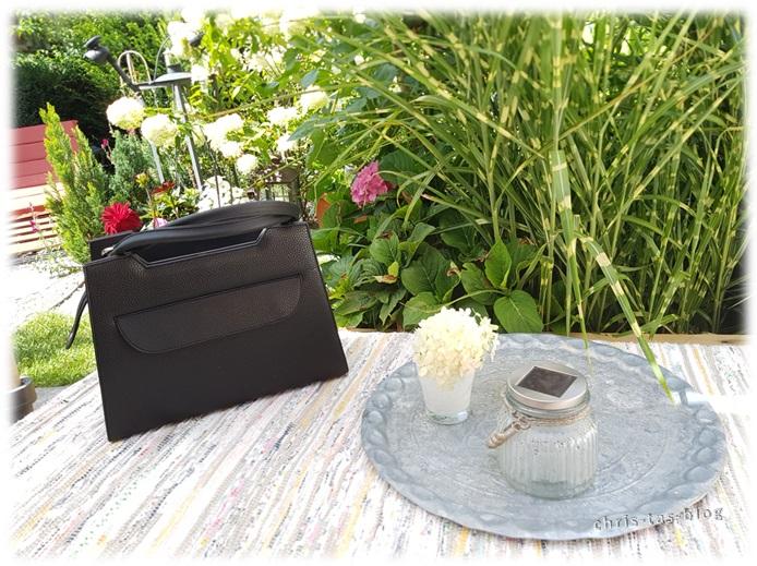Delieta Grundtasche mit schwarzem Taschendesign