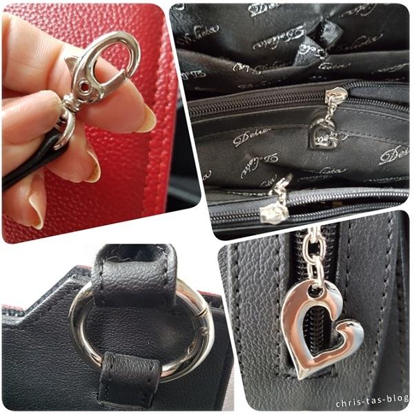 Details an der Grundtasche Delieta