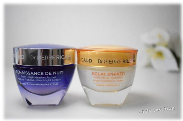 Nachtcreme und Wintercreme Dr Pierre Ricaud