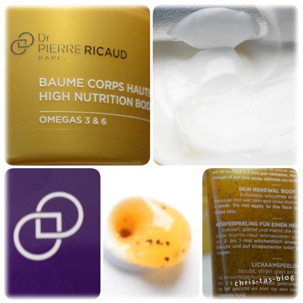 Details Peeling und Bodybalm Dr Pierre Ricaud