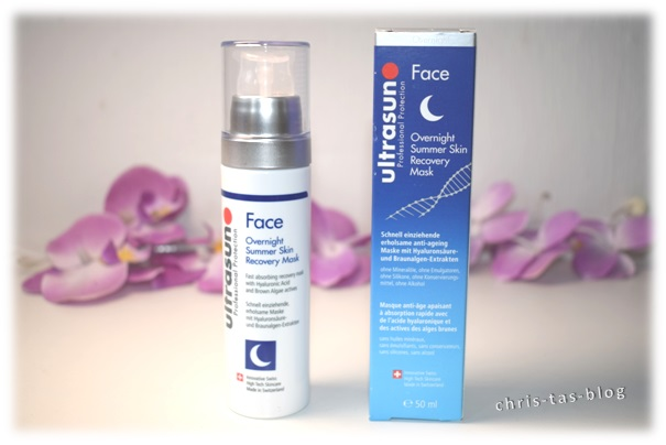 ultrasun Face Overnight Summer Skin Recovery Mask