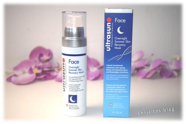 ultrasun Face Overnight Summer Skin Recovery Mask