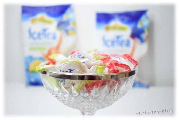 iceTea Bonbons gut gekühlt servieren