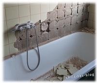 Unser Badezimmer wird renoviert