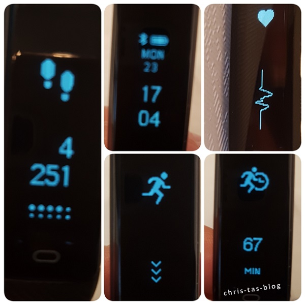 Fitness Tracker Camtoa