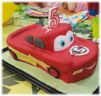 3DTorte Motivtorte Cars Auto Kindergeburtstag