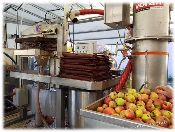Vom Apfel zum Saft - Mobile Saftpresse Mittelfranken