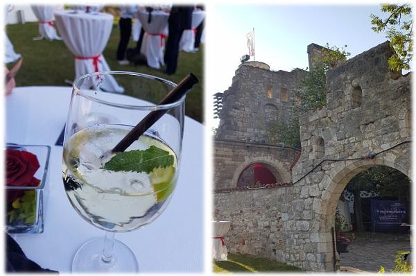 Bewirtung vor den Opernfestspielen auf Schloss Hellenstein