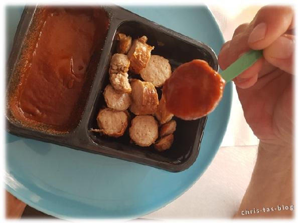 Currywurst vom Bratwursthaus genussfertig