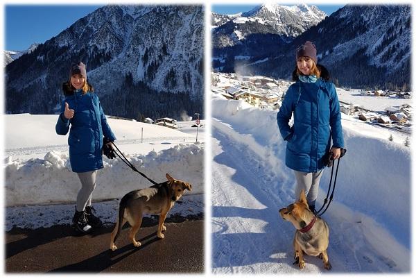 Kleinwalsertal im Dezember 2018 - Urlaub mit Hund