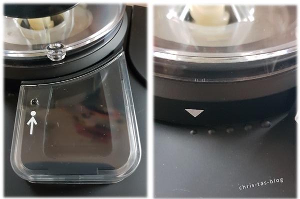 Mahlgradeinstellung Kaffeeautomat Klarstein AromaticaII