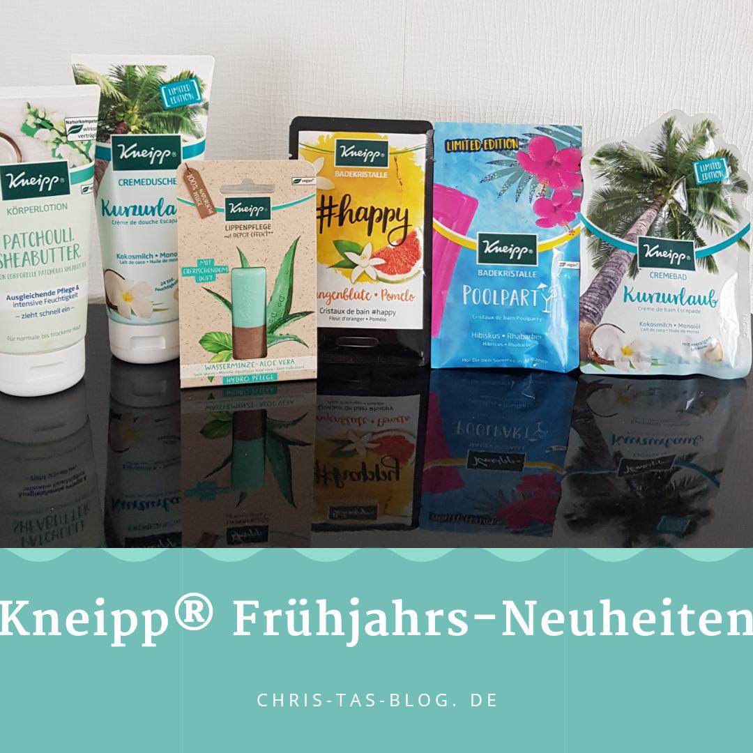 Kneipp Frühjahrs-Neuheiten 2019