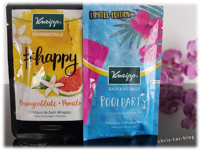 Kneipp Badekristalle #happy und Poolparty