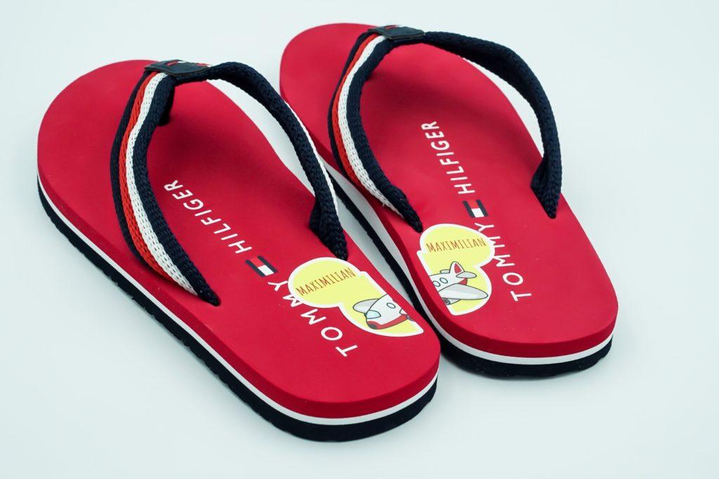 Schuhaufkleber mit Namen