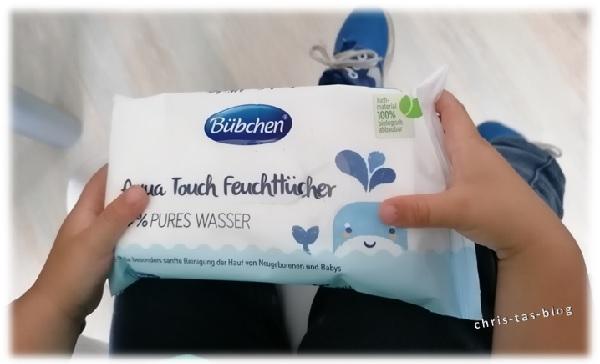 Für Kinder jeden Alters: Bübchen Aqua Touch Feuchttüchter