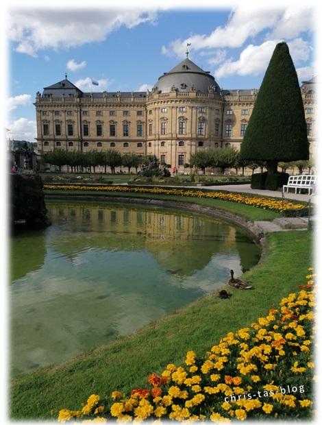 Residenz Würzburg Hofgarten