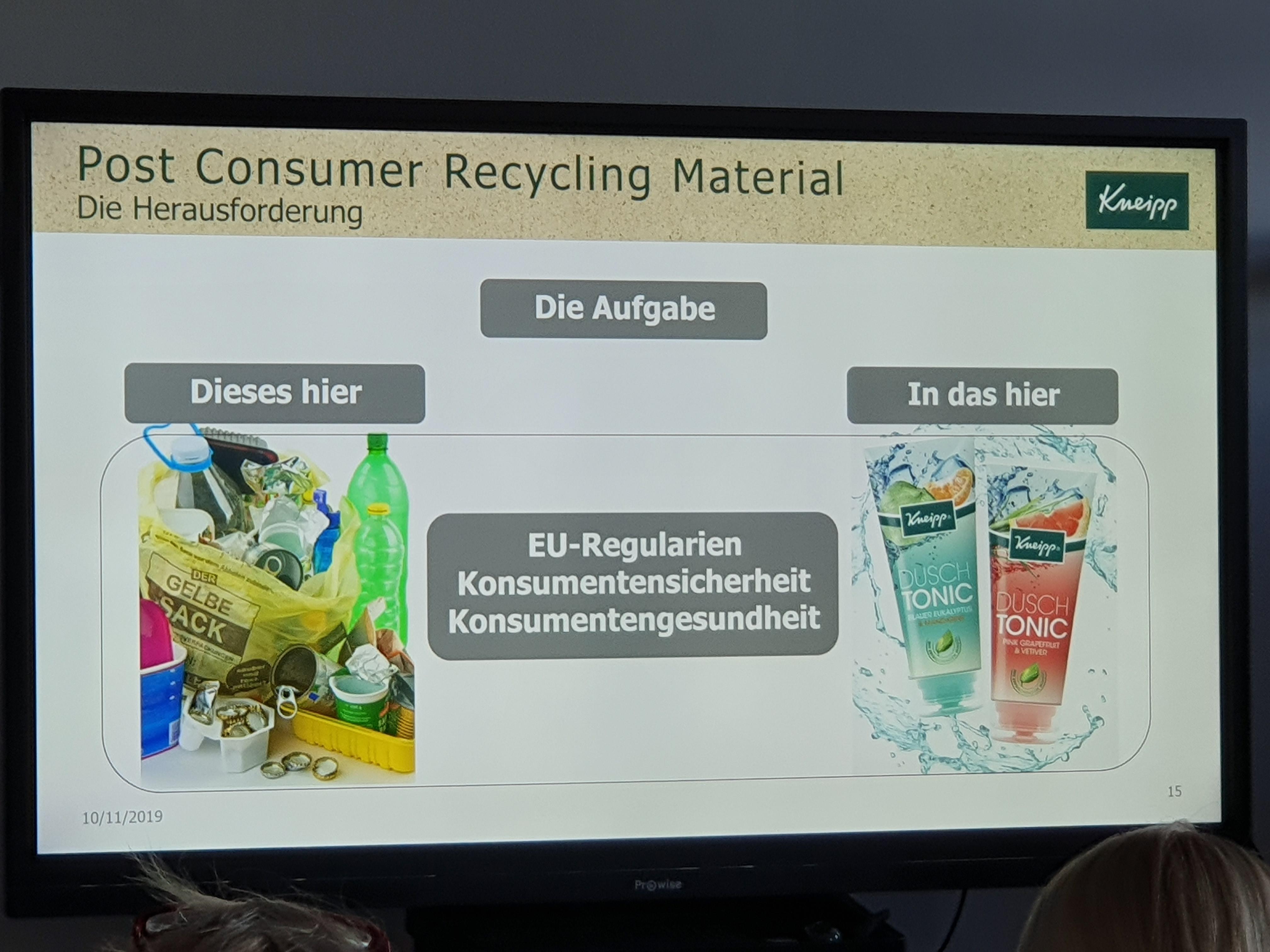 Vortrag Verpackungsmüll