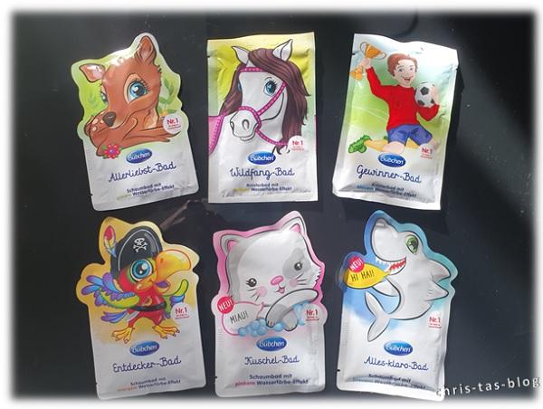 neue Badespaß-Produkte von Bübchen