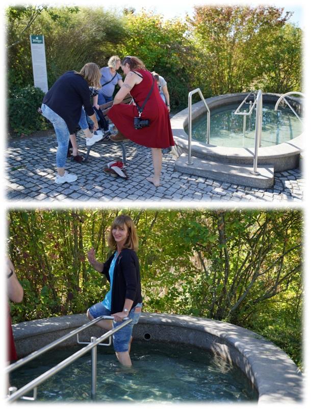 Kneipp Werk Ochsenfurt Wassertreten beim FrBTr2019