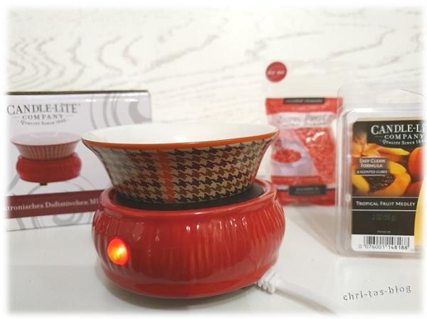 Duftstövchen, Duftwachs und Scent burts von Candle-lite Company
