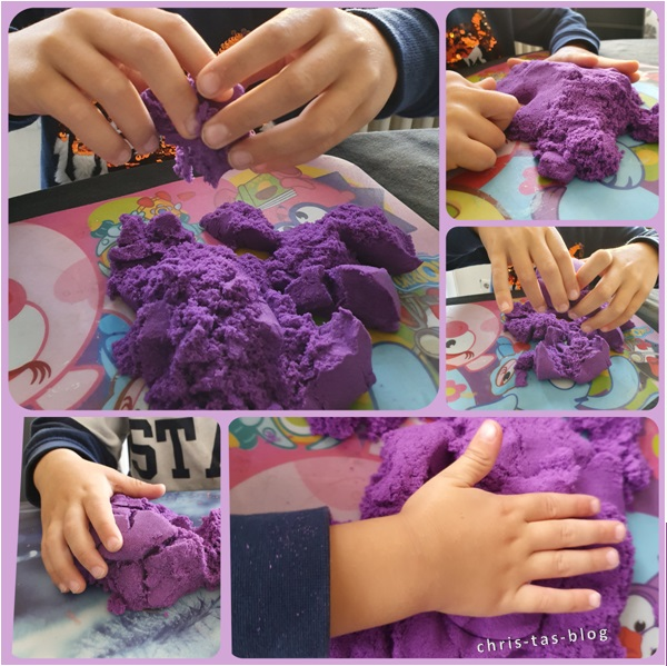 Fördert Kreativität: Kinetic Sand