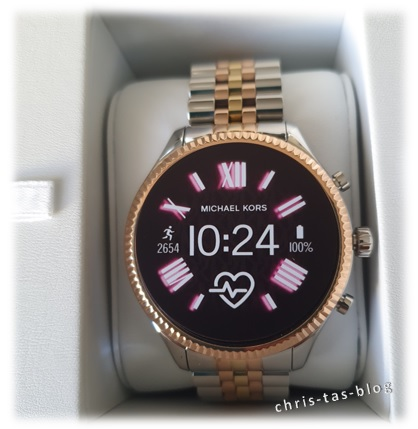 Unboxing Michael Kors Smartwatch Lexington MKT5080
