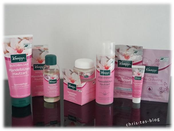 Mandelblüten Hautzart Pflegeserie von Kneipp