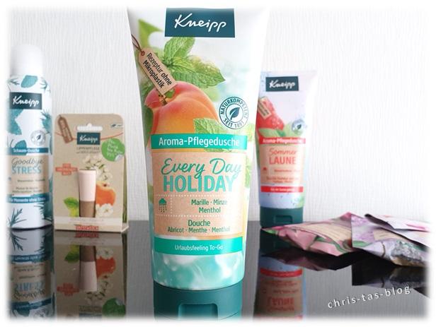 Aroma-Pflegedusche Everyday Holiday von Kneipp