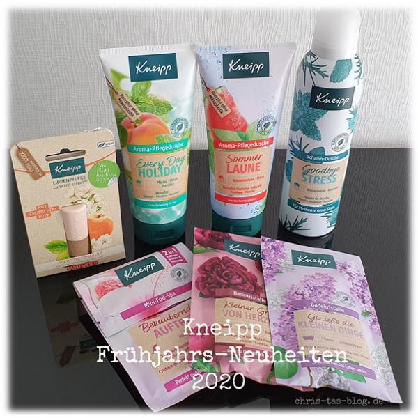 Neue Produkte von Kneipp - Frühjahrs-Neuheiten 2020