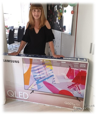 Ich habe den Samsung QLED erhalten