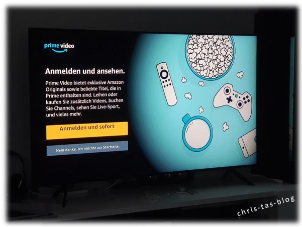 einfaches Entertainment Samsung QLED TV