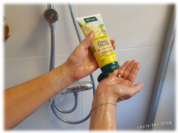 Kneipp Lebensfreude unter der Dusche