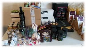 Produkte beim Bloggertreffen von Feyaria