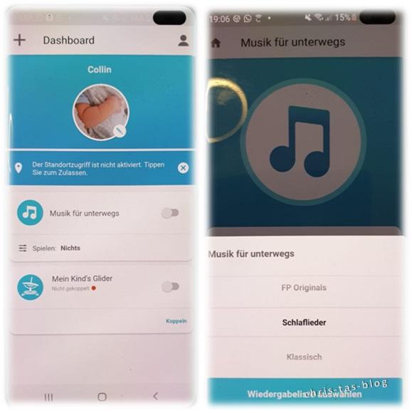Smart Connect App Mattel FisherPrice 2-in-1 Glider